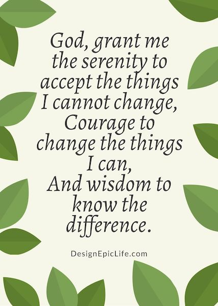 It is a picture of Printable Serenity Prayer throughout worksheet