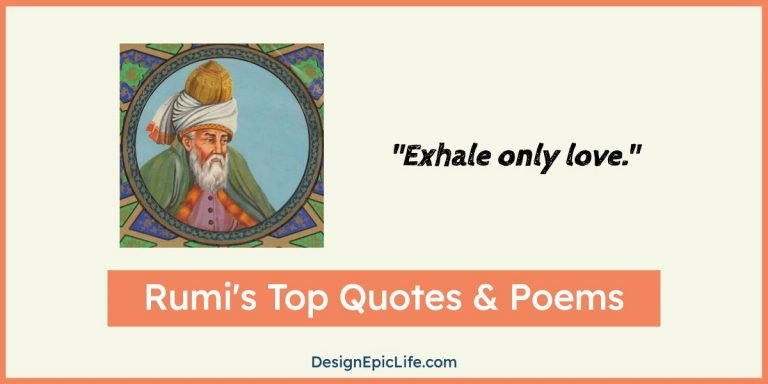 These Rumi's Quotes And Poems Will Melt YourHeart With The Fire Of Love